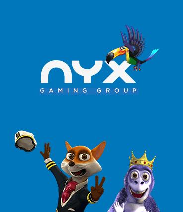 nyx speltillverkare roulette