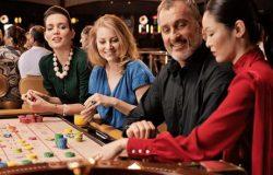 etikett på ett casino
