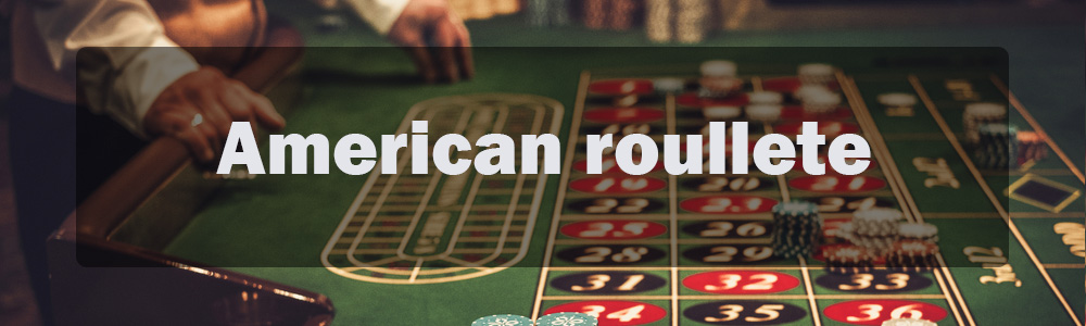 American roulette banner