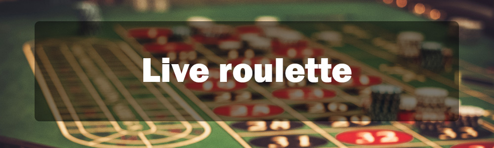 live roulette banner